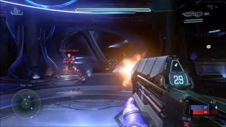 Halo 5 thruster evade